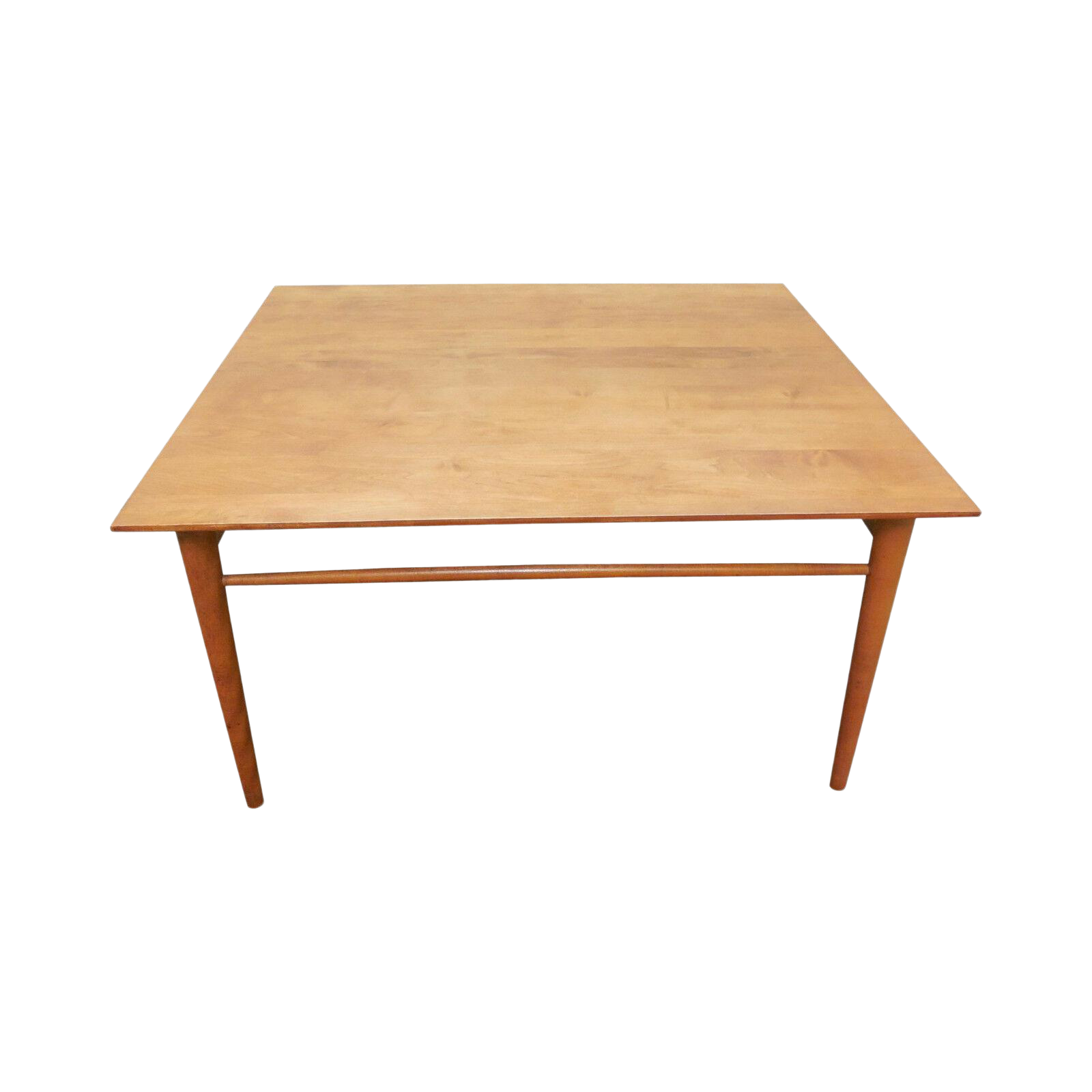 Picture of: Paul Mccobb Mid Century Modern Maple Square Coffee Table Chairish