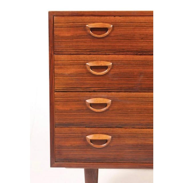 Vintage Kai Kristiansen Danish Mid-Century Modern Rosewood Dresser - Image 4 of 6