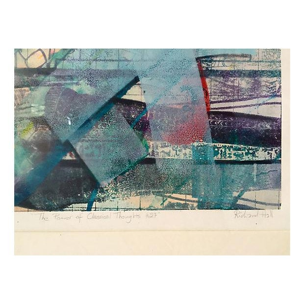 Richard Hall Modernist Abstract Painting - Image 5 of 6