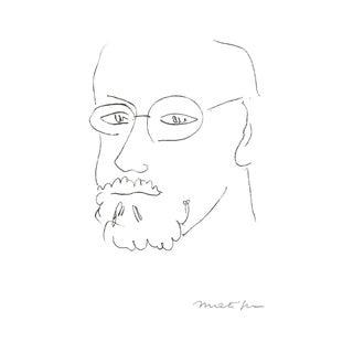 Henri Matisse, Autoportrait De Trois Quarts, Offset Lithograph, Edition: 500, 1995 For Sale