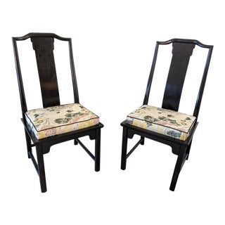 Century Chin Hua Dining Side Chairs- a Pair For Sale