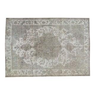 "Vintage Distressed Sivas Carpet - 6'7"" X 9'6"""
