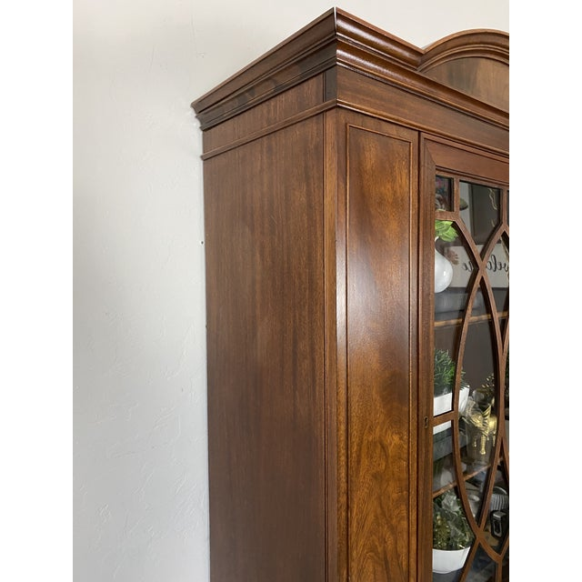 1950s Vintage Federal Style Cabinet For Sale - Image 9 of 12
