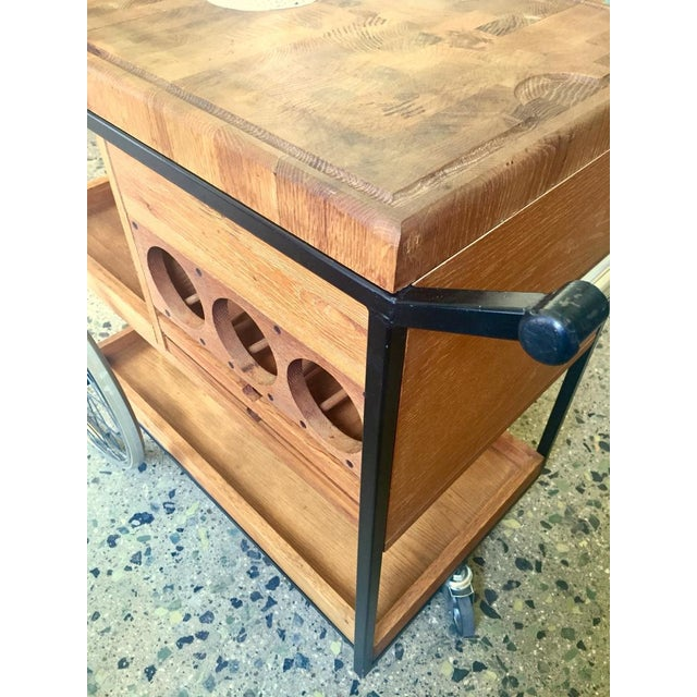 1960's Bill Saunders Umanoff Design Bar Cart For Sale In Los Angeles - Image 6 of 10
