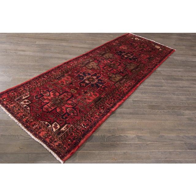 """Apadana - Vintage Persian Rug, 3'5"""" x 9'7"""" - Image 5 of 7"""