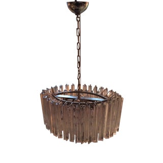Camer Murano Oval Shape Chandelier For Sale