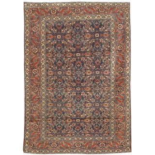 Extremely Fine Antique 19th Century Herat Rug For Sale