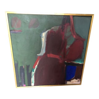 Abstract Oil Painting by Charlotte Brieff For Sale