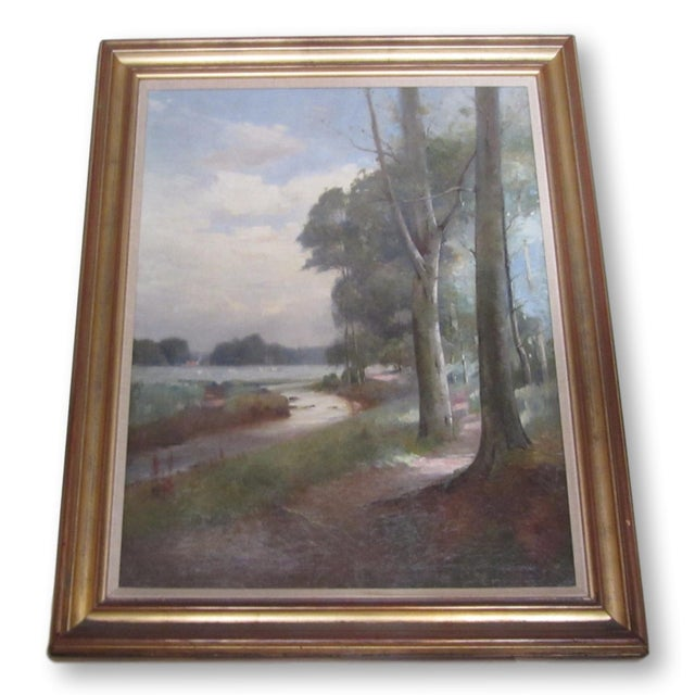 Landscape Oil Painting by Thomas Bunting - Image 8 of 8