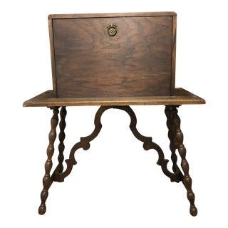 1920s Spanish Secretary Desk For Sale