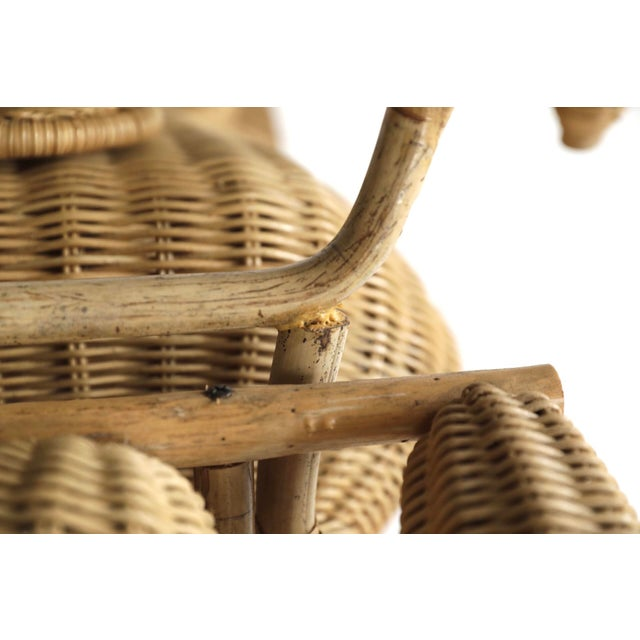 Tom Dixon Rattan Motorcycle Sculpture For Sale - Image 10 of 13