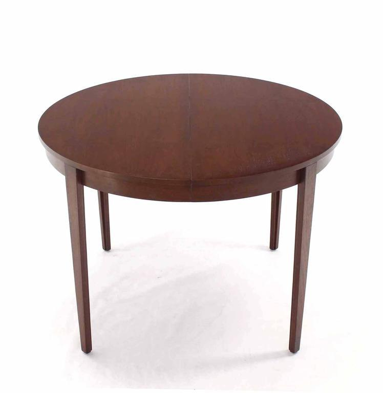 Captivating Round Dunbar Dining Conference Table Four Extension Leaves For Sale In New  York   Image 6