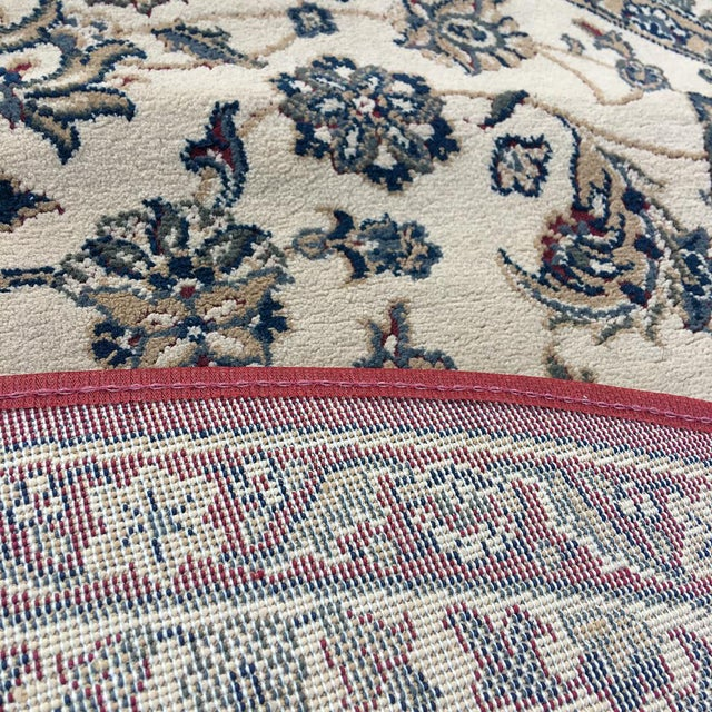 """Traditional Persian Floral Rug - 5'3"""" x 7'5"""" - Image 6 of 6"""