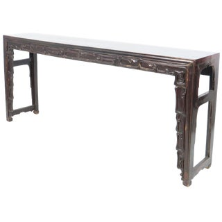 19th Century Chinese Altar Console/Calligraphy Table For Sale