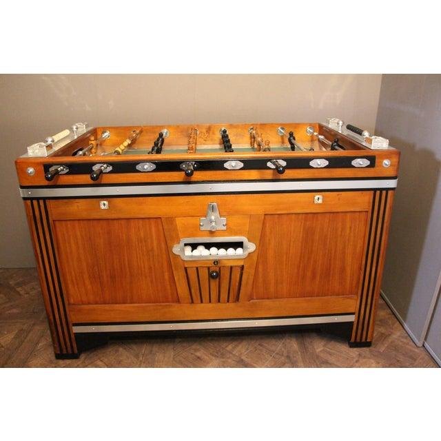 French Foosball Table For Sale - Image 11 of 11