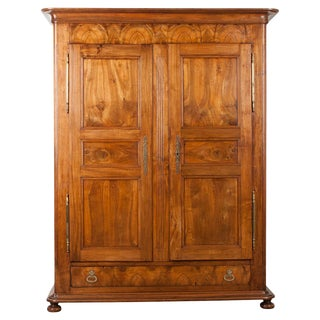 French 19th Century Louis Philippe Walnut Armoire For Sale