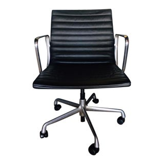 Eames Management Aluminum Chair For Sale