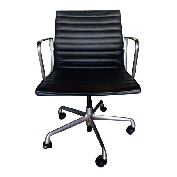 Eames Management Aluminum Chair For Sale