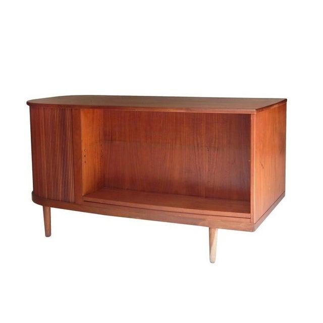 "1950s Perfect Scandinavian ""Mad-Men"" Desk For Sale - Image 5 of 10"