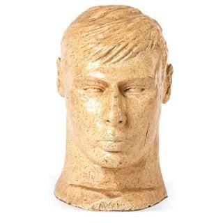 Mid-Century Male Bust