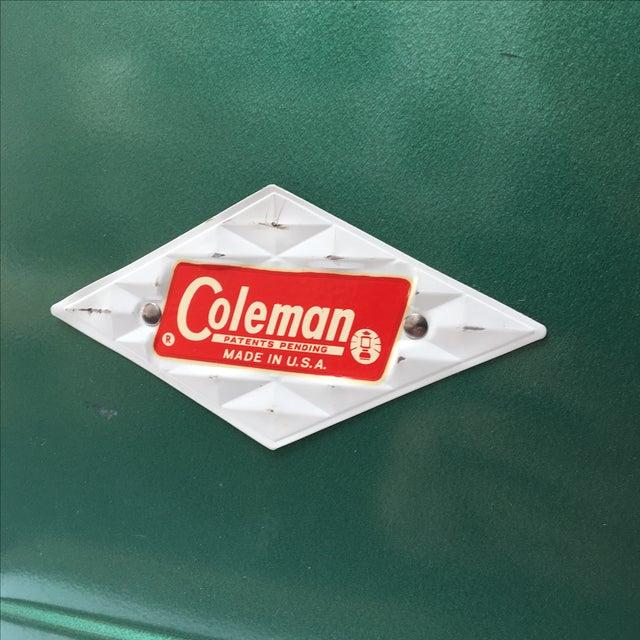 Vintage Coleman Cooler For Sale - Image 7 of 11