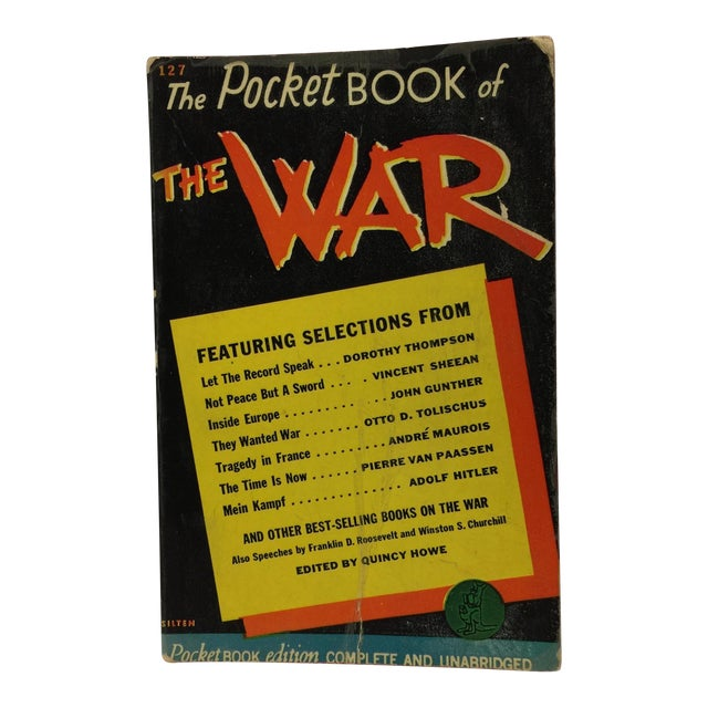 Pocket Book of the War 1941 Quincy Howe For Sale