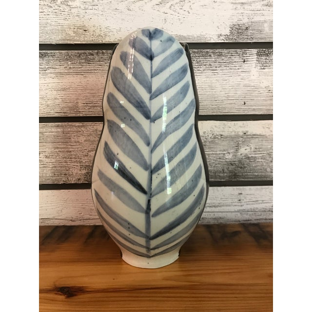 Tulip-Shaped Stoneware Vase For Sale In New York - Image 6 of 6