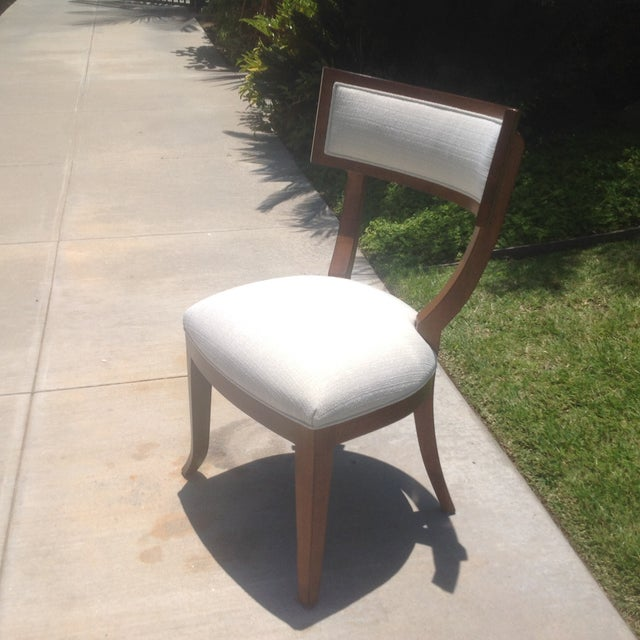Modern Mid Century Style Klismos Dining Chair - Image 3 of 7