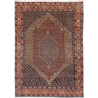 "Senneh Persian Rug, 6'6"" x 9'4"" feet"