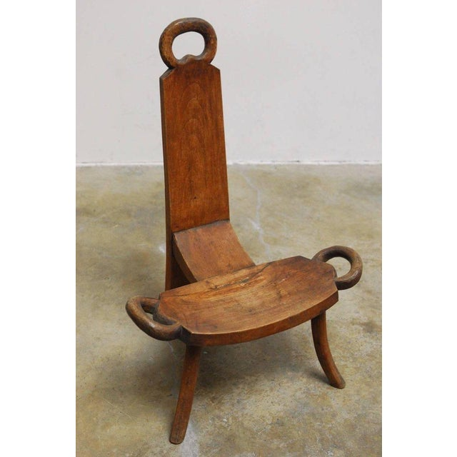 19th Century English Carved Birthing Chair - Image 2 of 11 - 19th Century English Carved Birthing Chair Chairish