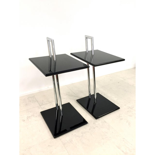 Vintage Eileen Gray Occasional Table - Pair - Image 3 of 7