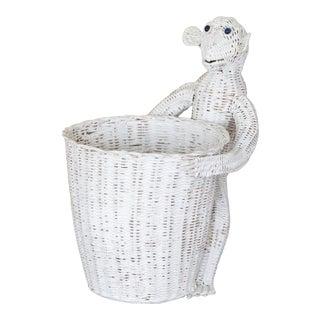 Mario Lopez Torres Wicker Monkey Basket For Sale