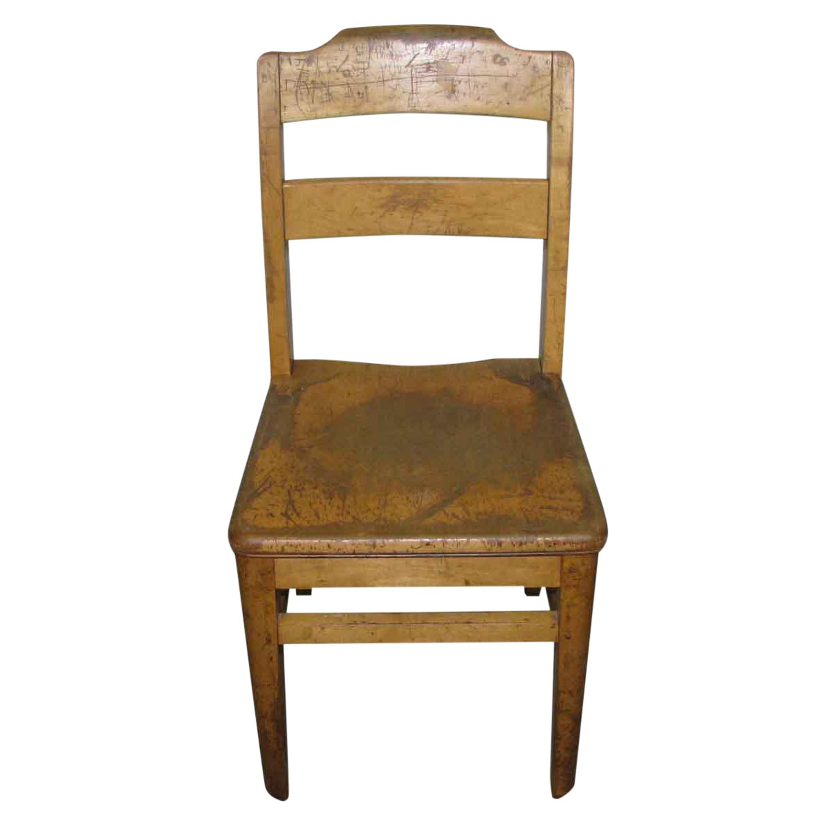- Antique Ladder Back School Chair Chairish