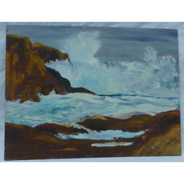H.L. Musgrave Mid-Century Ocean Painting - Image 2 of 7