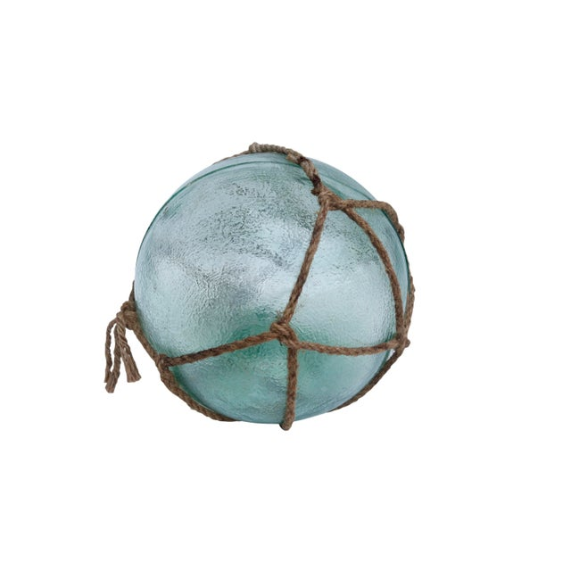 Large Hand Blown Glass Fishing Floats, Set of 3 For Sale - Image 4 of 11