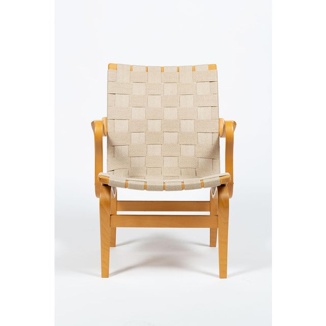 Gold Bruno Mathsson Eva Chairs For Sale - Image 8 of 13