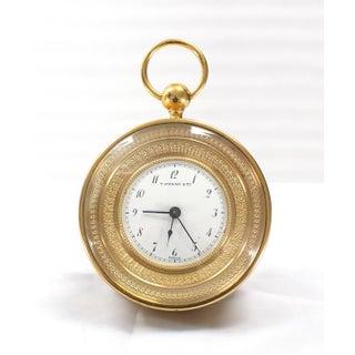 Vintage Mid Century Tiffany Vintage Bronze Travel Alarm Clock Preview