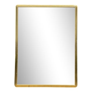 Jerry Solomon Art Deco Style Giltwood Designer Full Length Dressing Floor Mirror For Sale