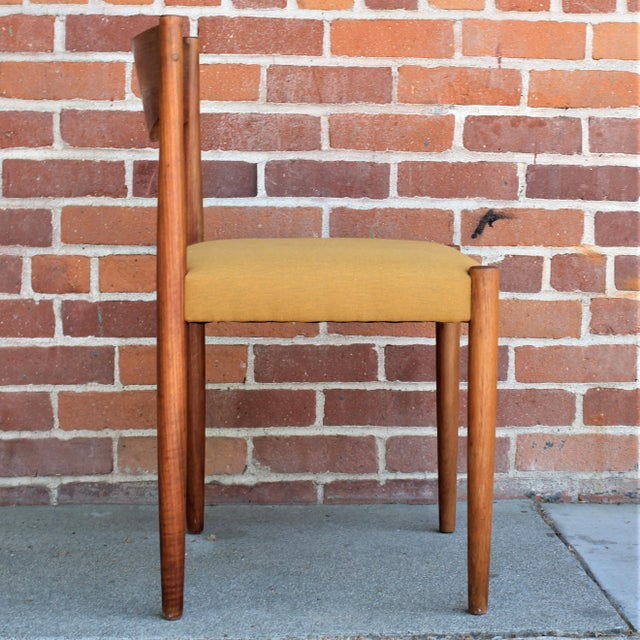 Wood 1960s Vintage Danish Modern Teak Dining Chairs- Set of 4 For Sale - Image 7 of 13