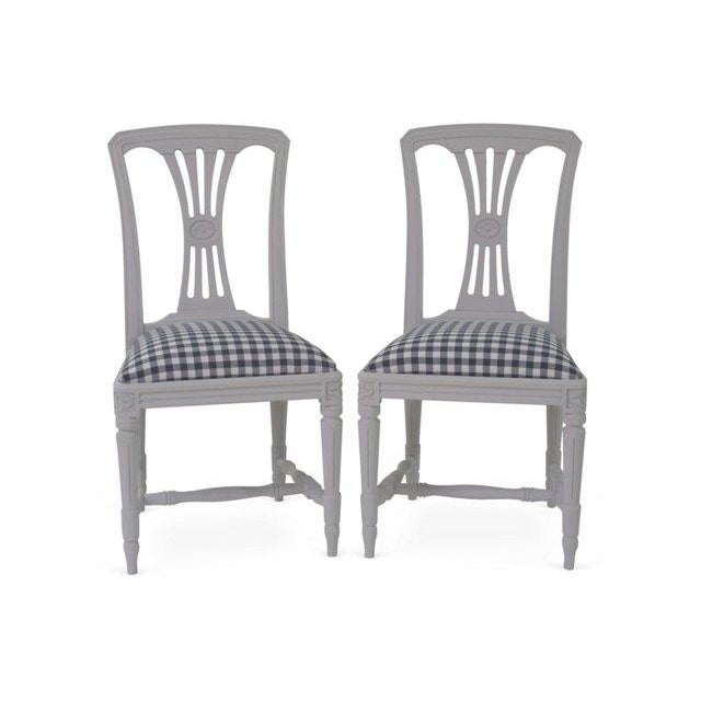 Swedish Side Chairs - A Pair - Image 2 of 4