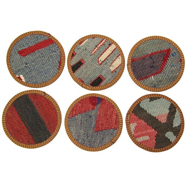 Kilim Coasters, Ceyhan - 6 - Image 2 of 2