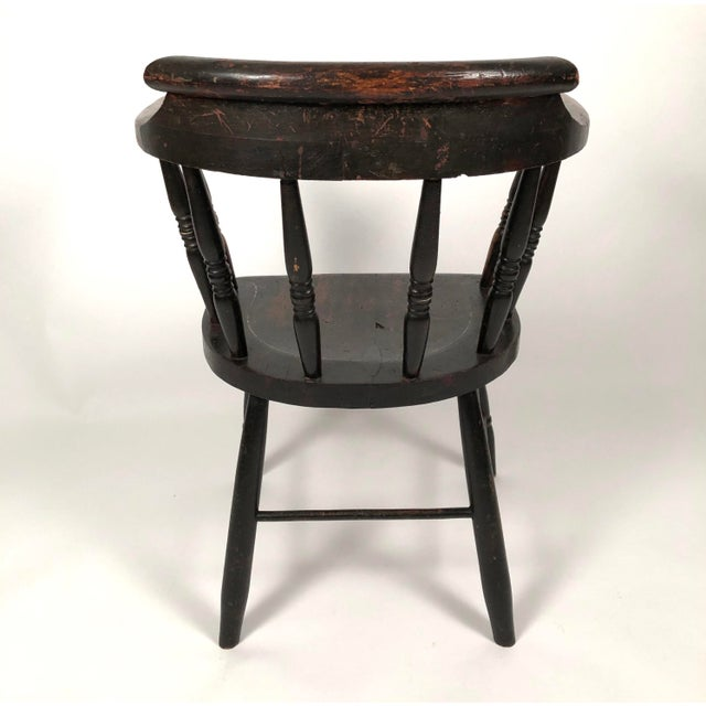 Set of 8 Matched Captain's Dining Chairs For Sale - Image 4 of 13