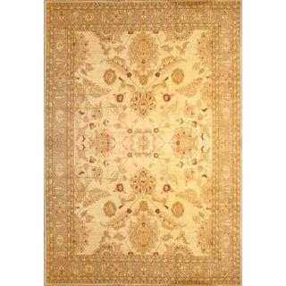 Pasargad Ny Pishawar Farahan Lamb's Wool Rug - 12′5″ × 18′2″ For Sale