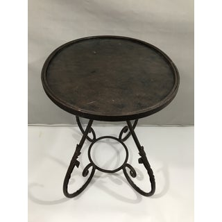 Oval Metal Side Table Preview