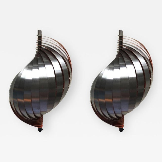 Henri Mathieu Pair of Kinetic Sconces For Sale - Image 6 of 6