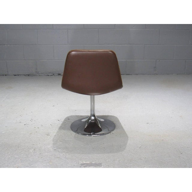 Metal Chrome Tulip Table and Four Dining Chairs by Borje Johanson- Set of 4 For Sale - Image 7 of 9
