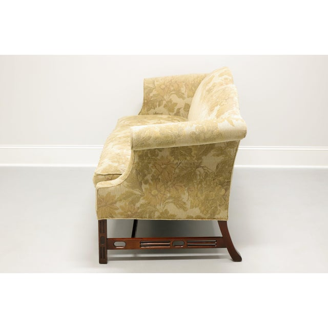 Late 20th Century Southwood Camelback Chippendale Style Sofa For Sale - Image 5 of 13