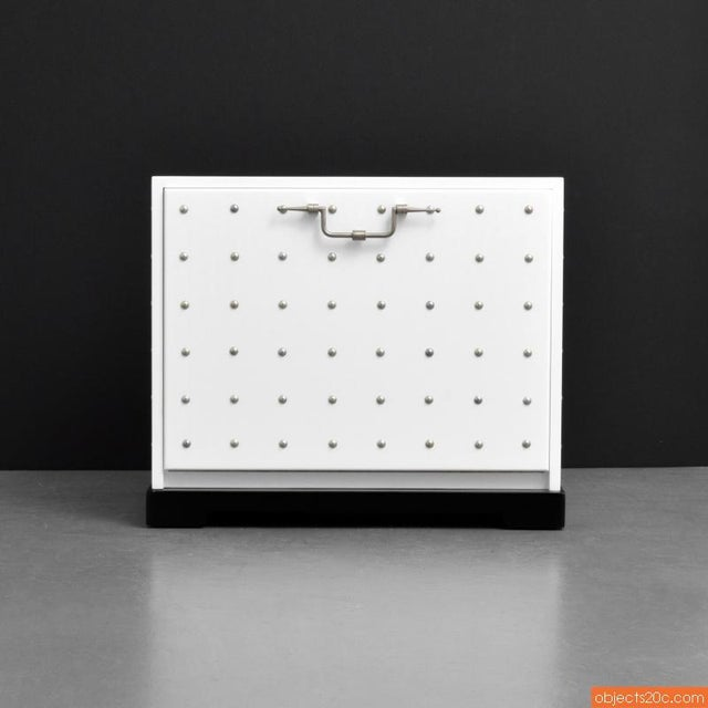 Contemporary 1950s Vintage Tommi Parzinger Studded Chest For Sale - Image 3 of 9