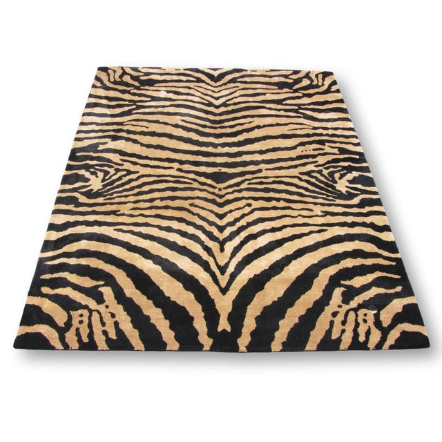 Safavieh Soho Zebra Rug - 7′6″ × 9′6″ - Image 2 of 4
