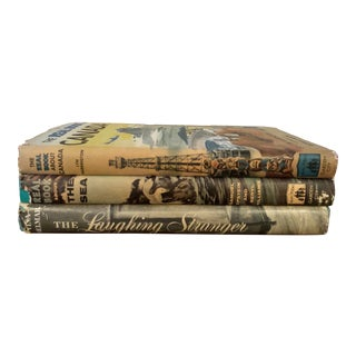 Vintage Decorative Books - Set of 3 For Sale
